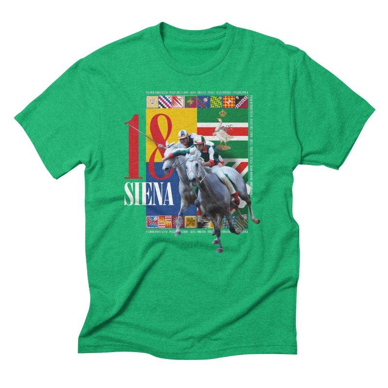 Palio di Siena № 1 Men's Triblend T-Shirt by FWMJ's Shop