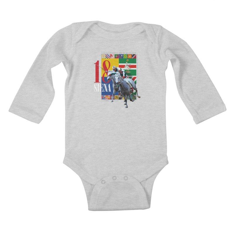 Palio di Siena № 1 Kids Baby Longsleeve Bodysuit by FWMJ's Shop