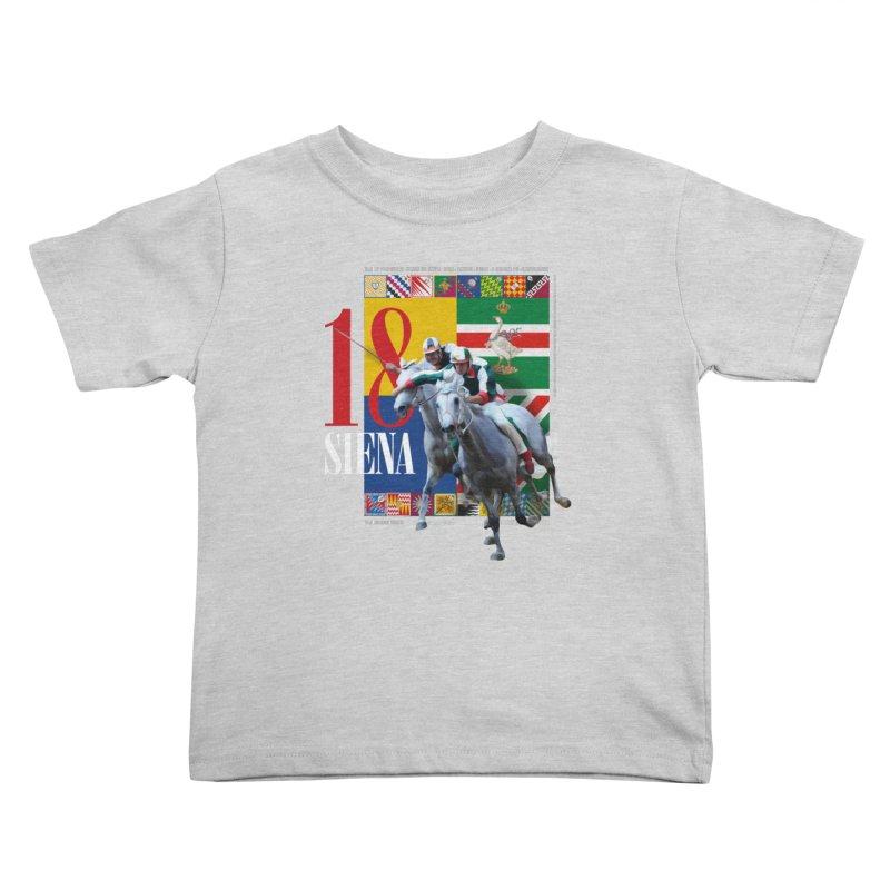 Palio di Siena № 1 Kids Toddler T-Shirt by FWMJ's Shop