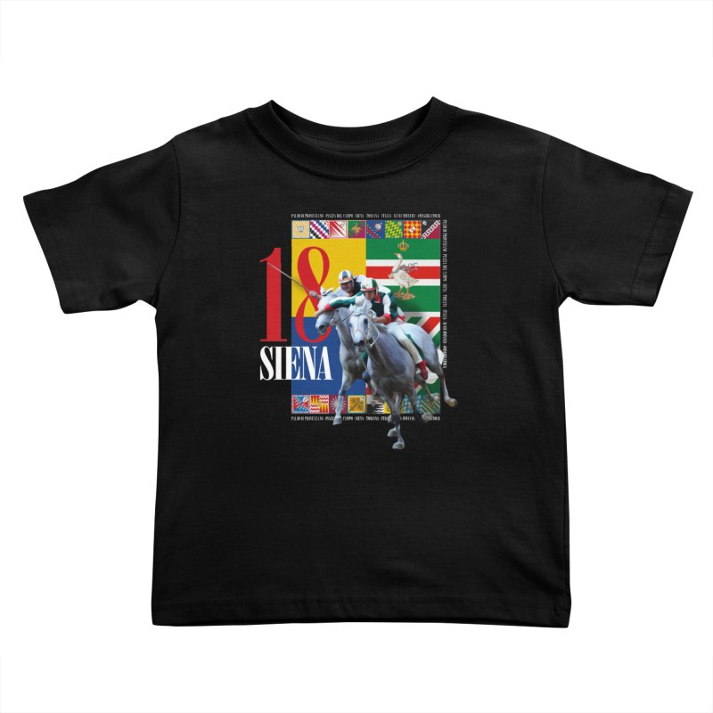 Palio di Siena № 1 Kids Toddler T-Shirt by FWMJ's Shop