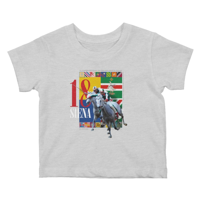 Palio di Siena № 1 Kids Baby T-Shirt by FWMJ's Shop
