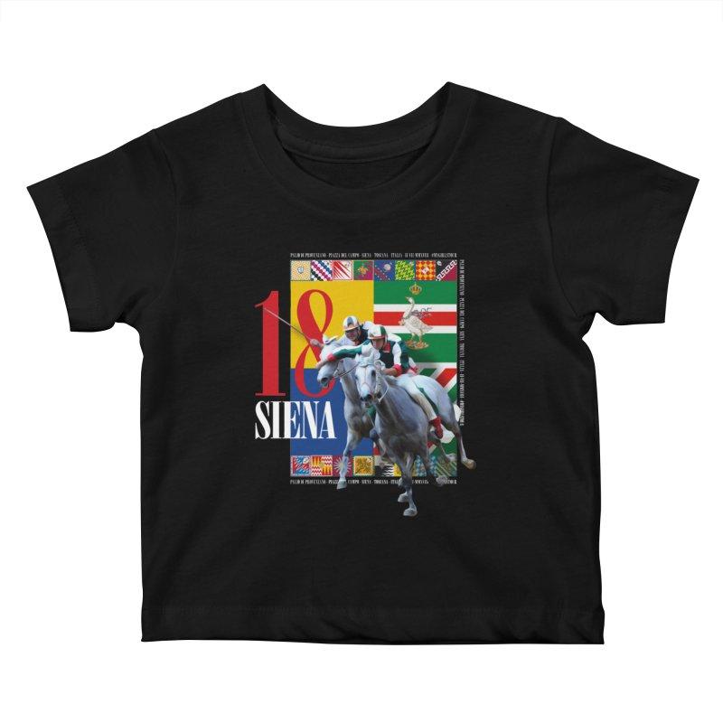Palio di Siena № 1 Kids Baby T-Shirt by FWMJ's Shop