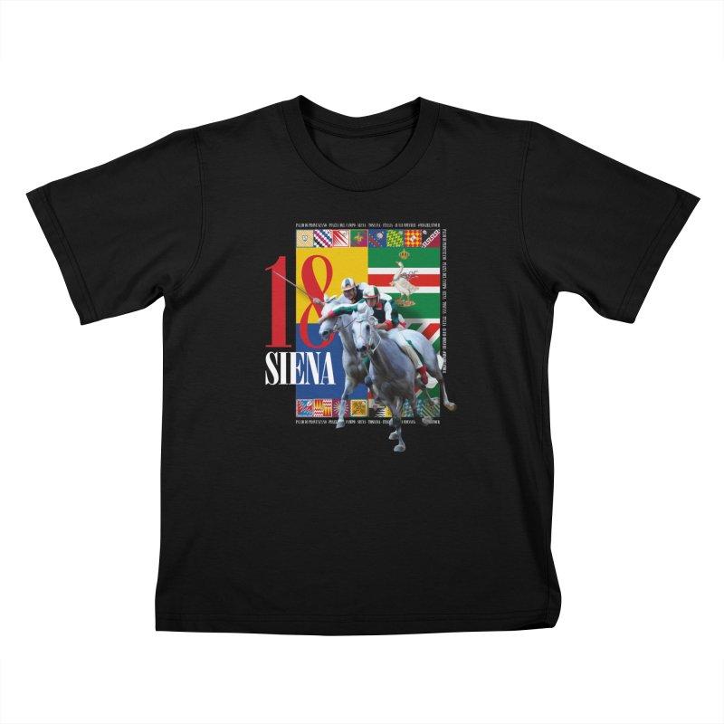 Palio di Siena № 1 Kids T-Shirt by FWMJ's Shop