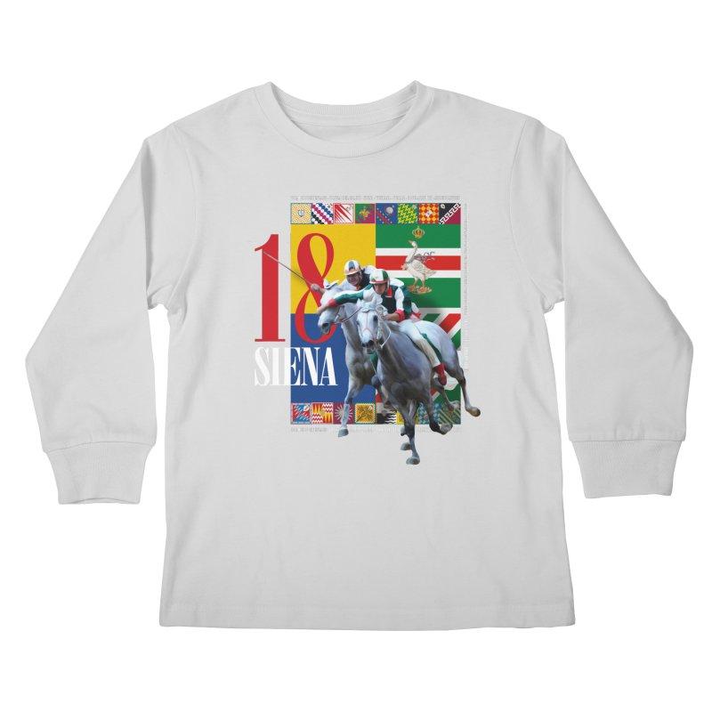 Palio di Siena № 1 Kids Longsleeve T-Shirt by FWMJ's Shop