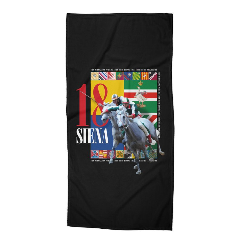 Palio di Siena № 1 Accessories Beach Towel by FWMJ's Shop
