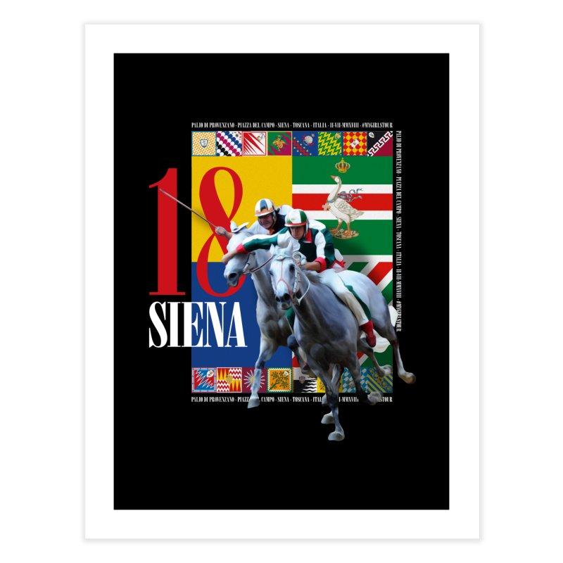 Palio di Siena № 1 Home Fine Art Print by FWMJ's Shop