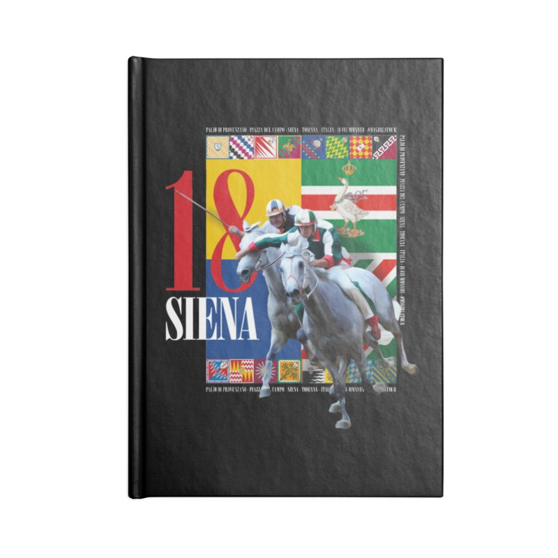 Palio di Siena № 1 Accessories Lined Journal Notebook by FWMJ's Shop
