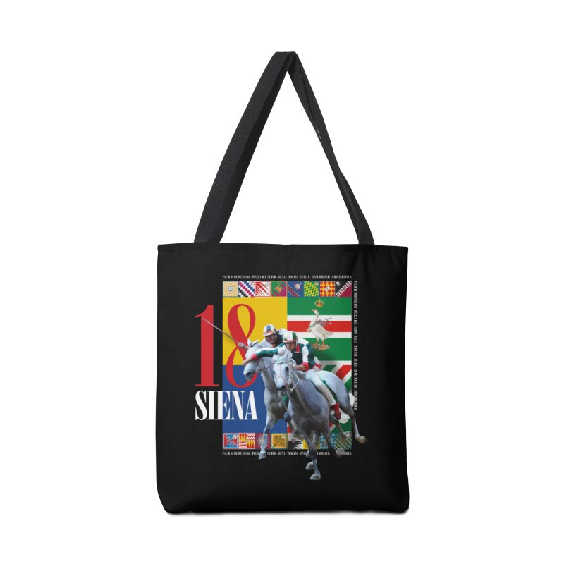Palio di Siena № 1 Accessories Tote Bag Bag by FWMJ's Shop