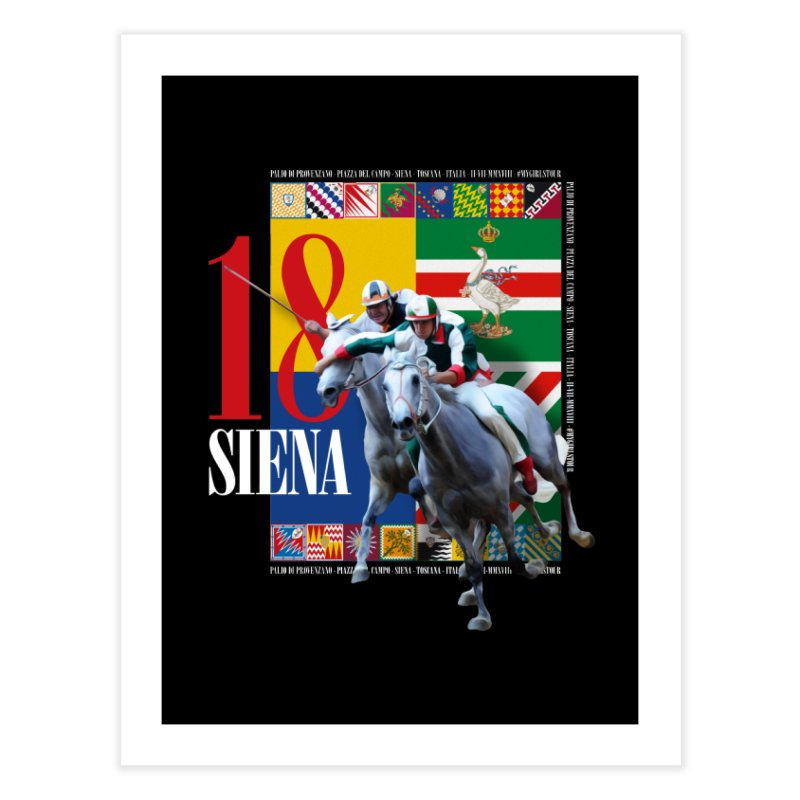 Palio di Siena № 1 Home Fine Art Print by FWMJ's Shop