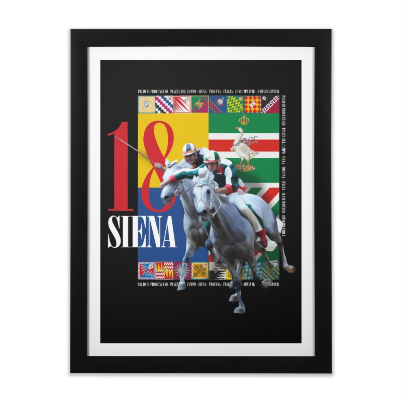 Palio di Siena № 1 Home Framed Fine Art Print by FWMJ's Shop