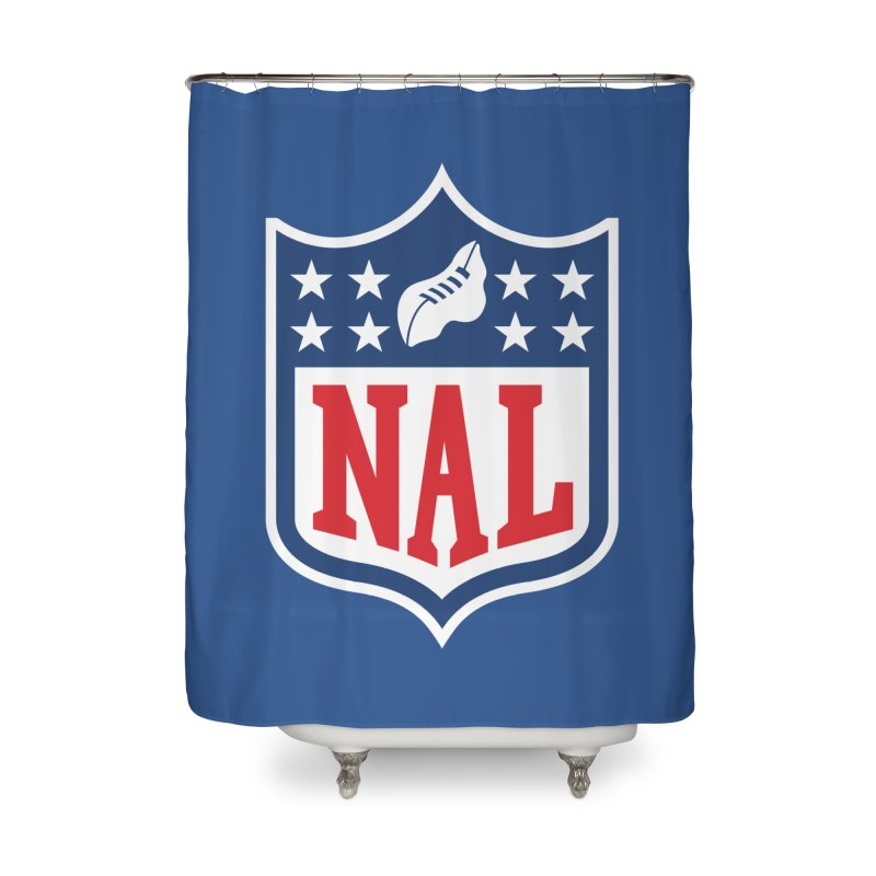 National Anthem League Home Shower Curtain by FWMJ's Shop