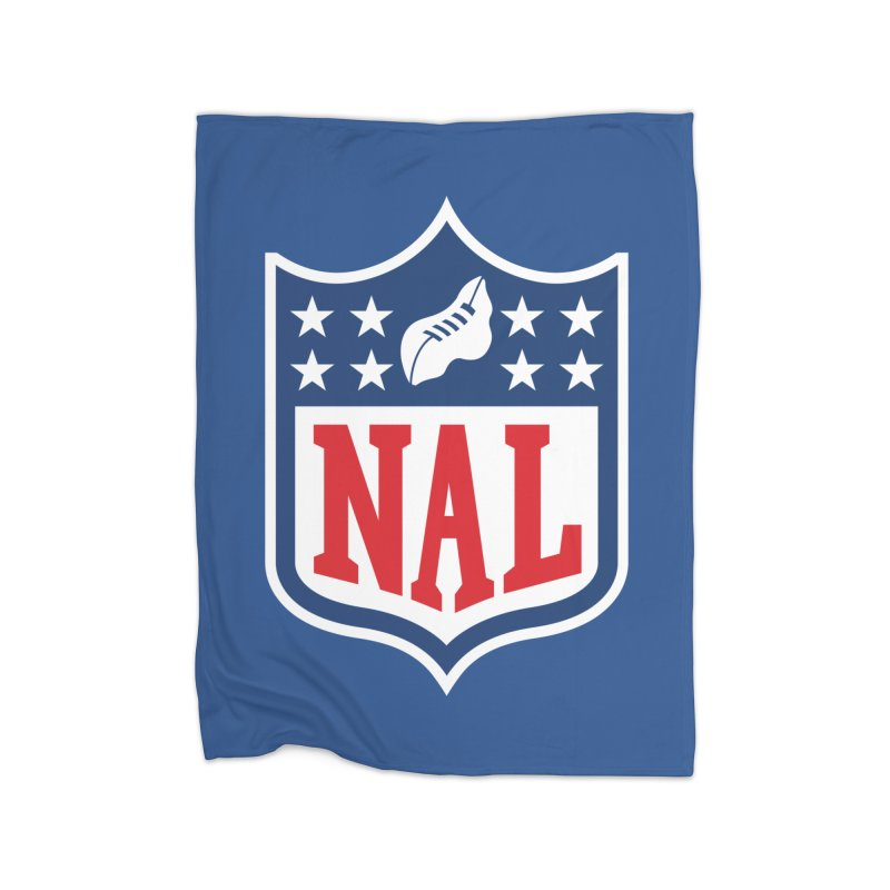 National Anthem League Home Blanket by FWMJ's Shop