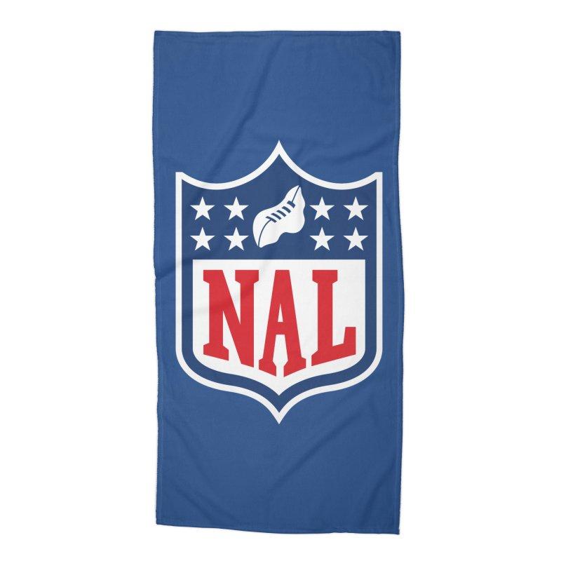 National Anthem League Accessories Beach Towel by FWMJ's Shop