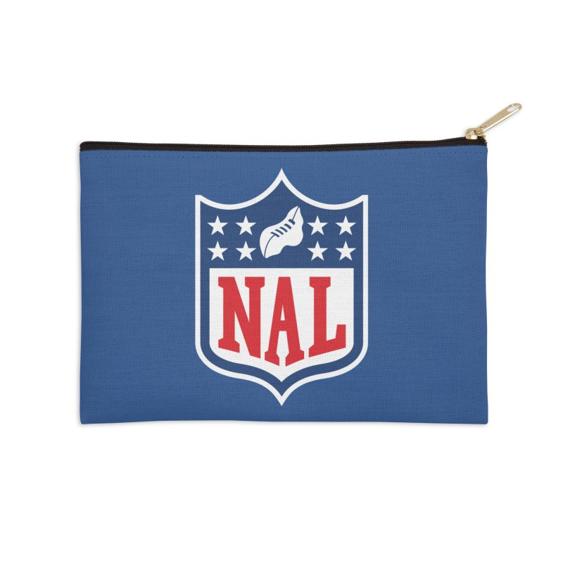 National Anthem League Accessories Zip Pouch by FWMJ's Shop