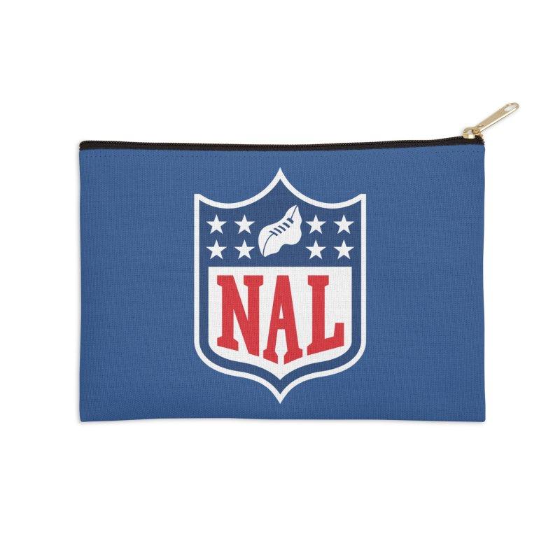 National Anthem League Accessories Zip Pouch by FWMJ's Shop