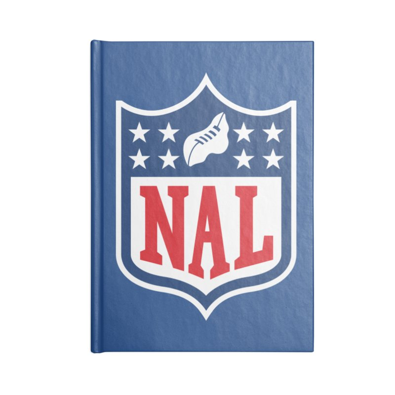 National Anthem League Accessories Notebook by FWMJ's Shop