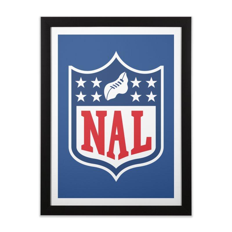 National Anthem League Home Framed Fine Art Print by FWMJ's Shop