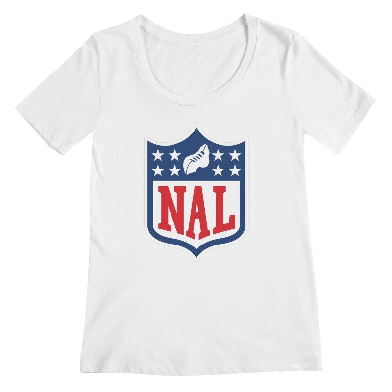 National Anthem League Women's Regular Scoop Neck by FWMJ's Shop