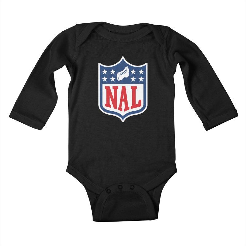 National Anthem League Kids Baby Longsleeve Bodysuit by FWMJ's Shop