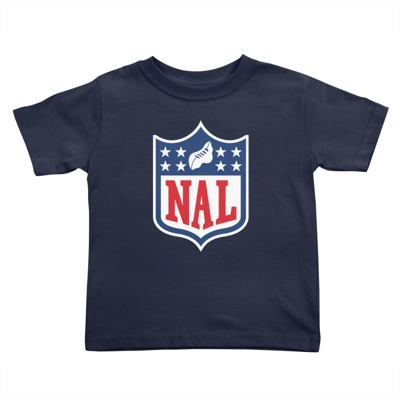 National Anthem League Kids Toddler T-Shirt by FWMJ's Shop