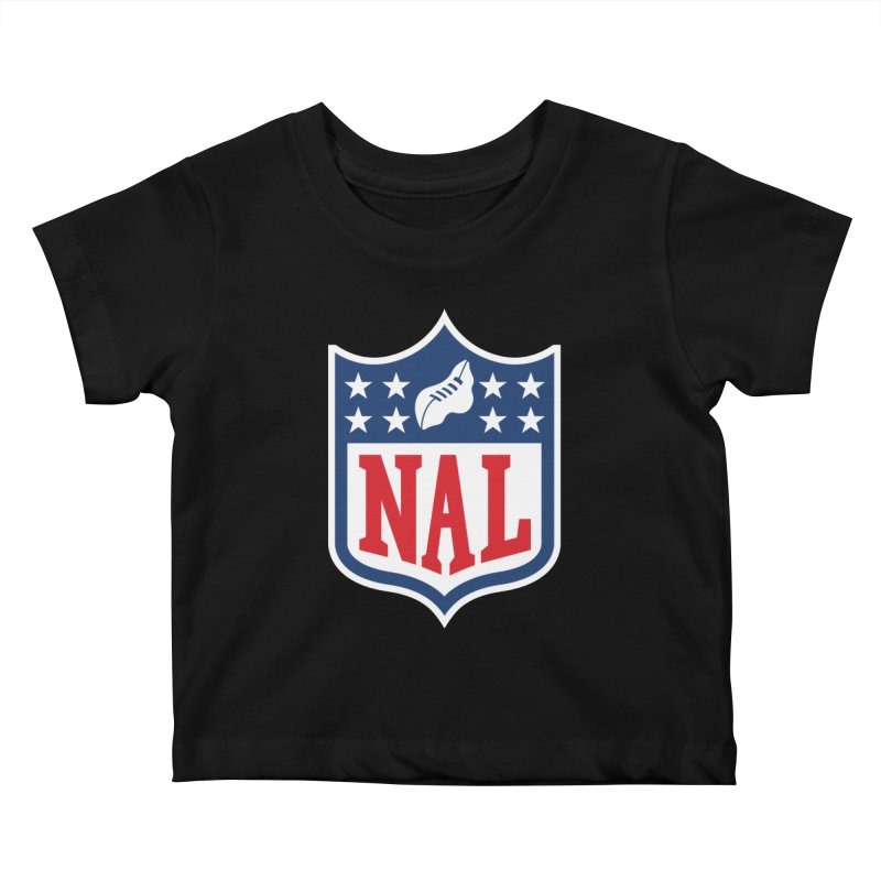 National Anthem League Kids Baby T-Shirt by FWMJ's Shop