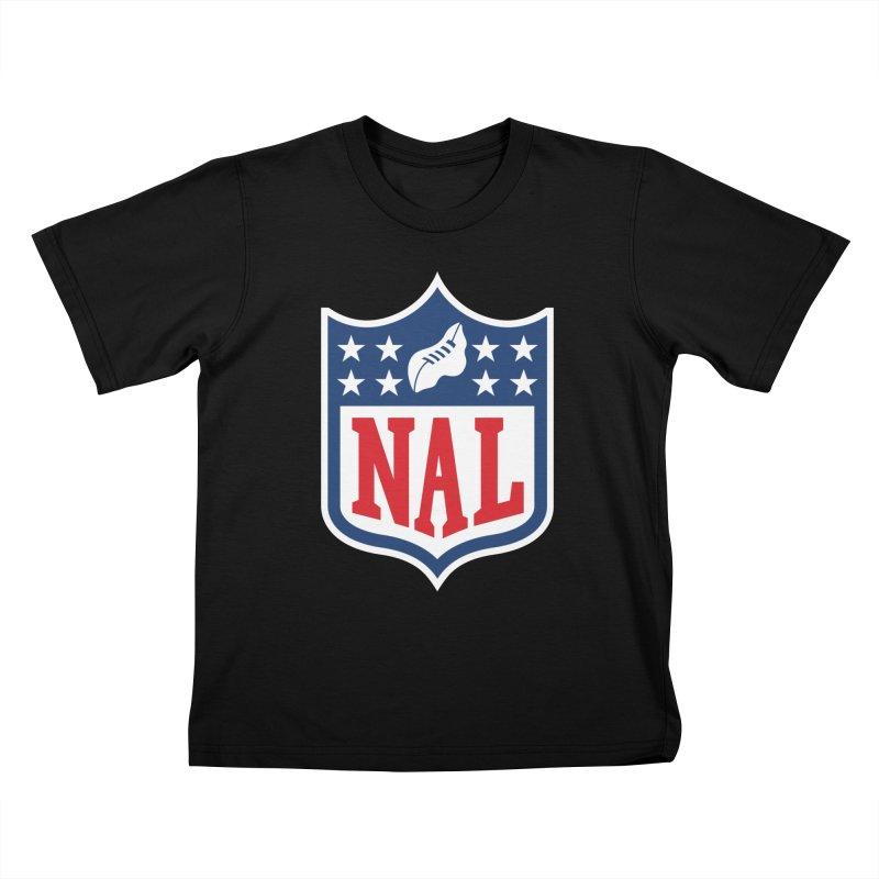 National Anthem League Kids T-Shirt by FWMJ's Shop