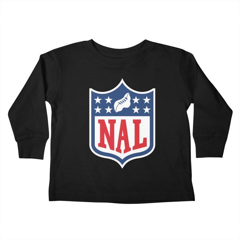 National Anthem League Kids Toddler Longsleeve T-Shirt by FWMJ's Shop