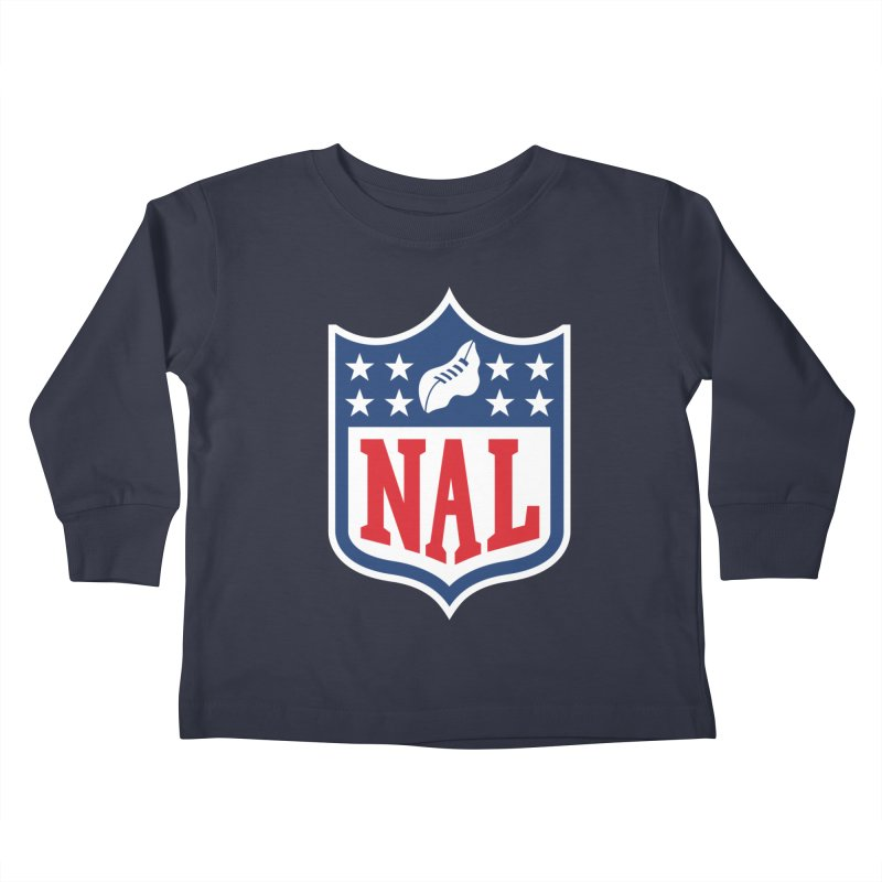 National Anthem League Kids Toddler Longsleeve T-Shirt by FWMJ's Shop