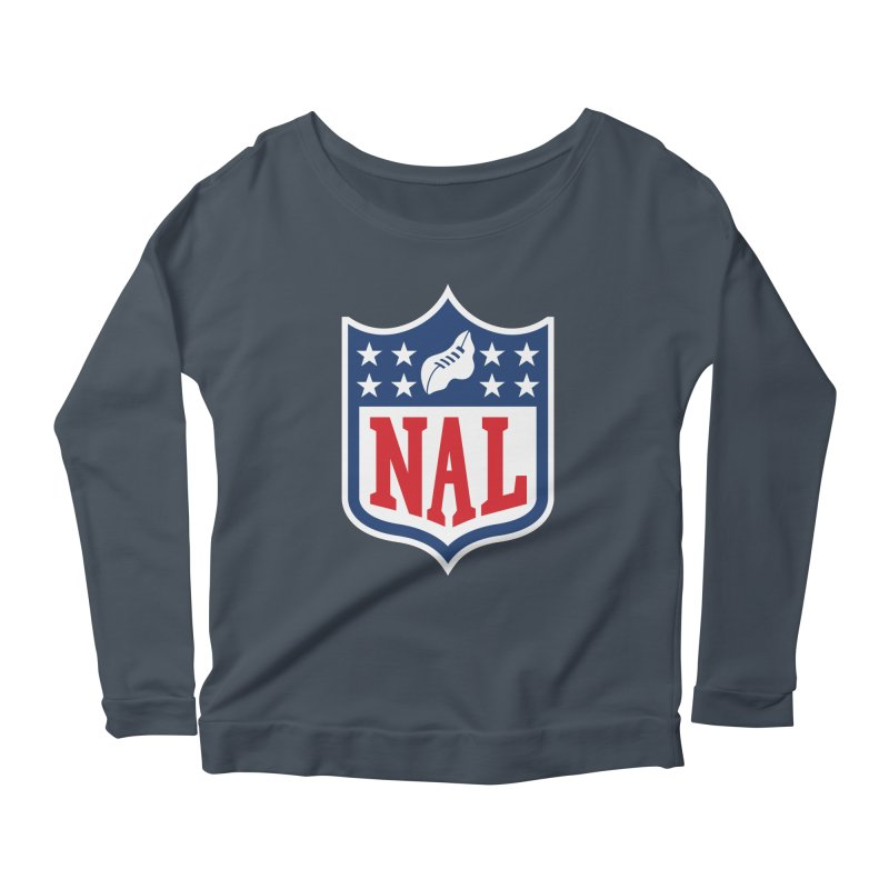 National Anthem League Women's Scoop Neck Longsleeve T-Shirt by FWMJ's Shop