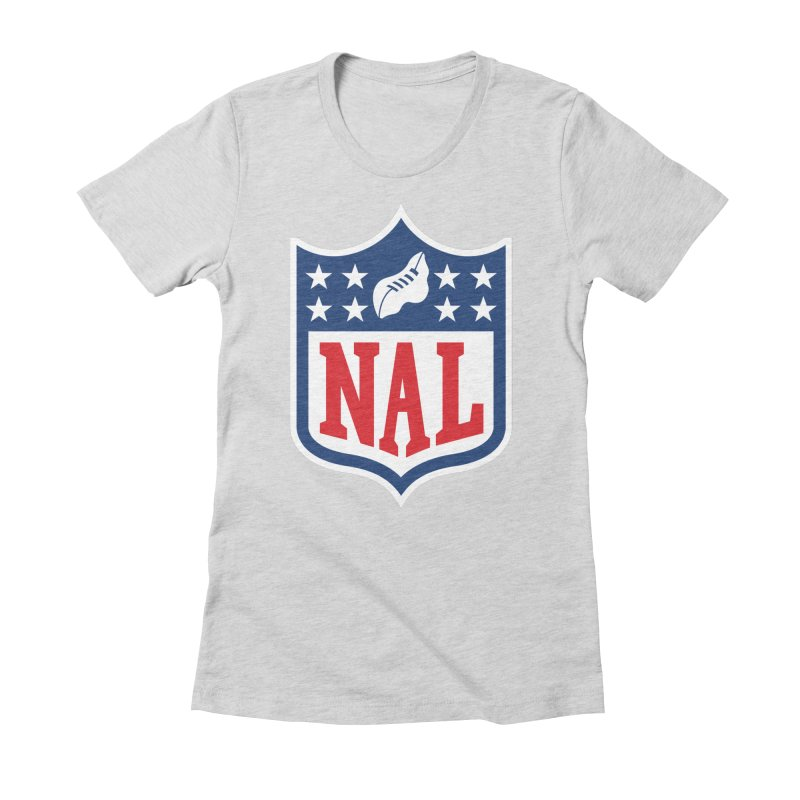 National Anthem League Women's Fitted T-Shirt by FWMJ's Shop