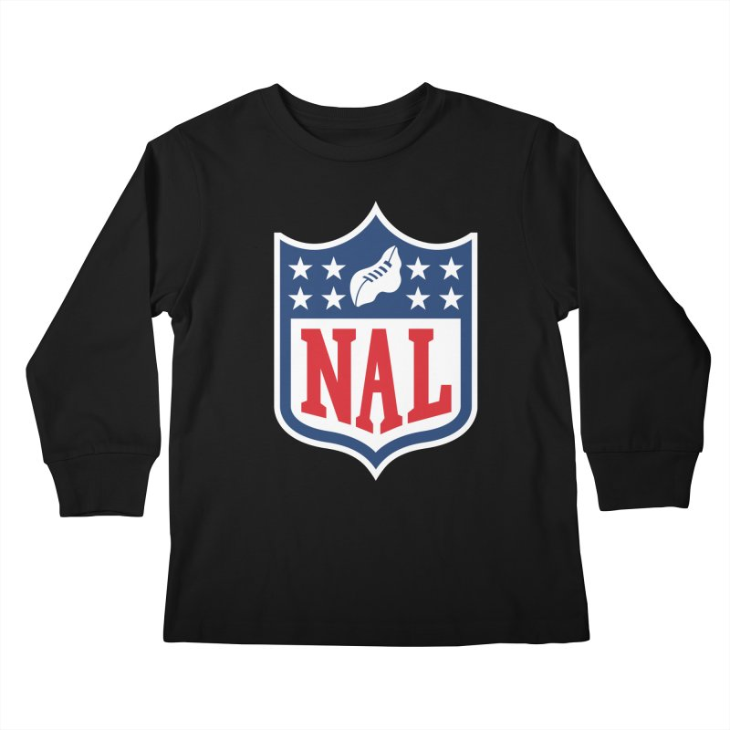 National Anthem League Kids Longsleeve T-Shirt by FWMJ's Shop