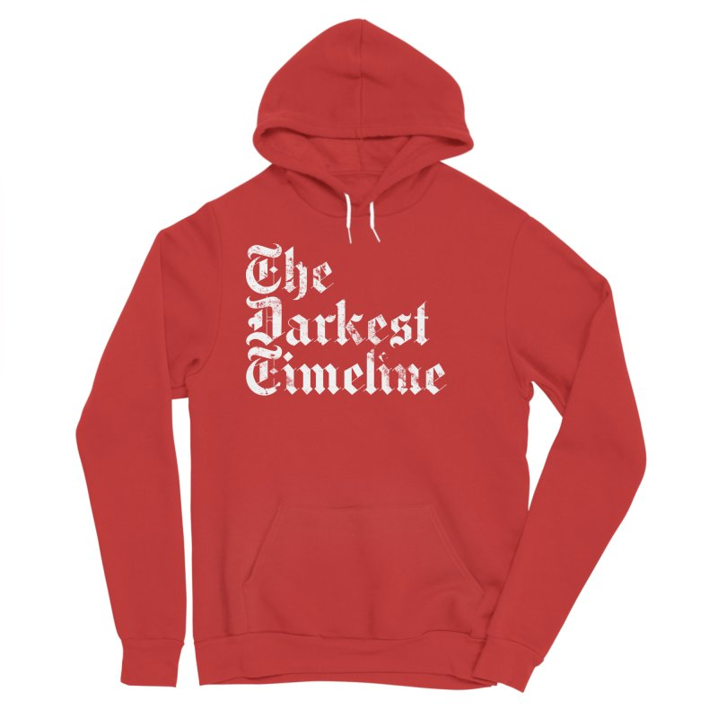 We Are In The Darkest Timeline Men's Pullover Hoody by FWMJ's Shop