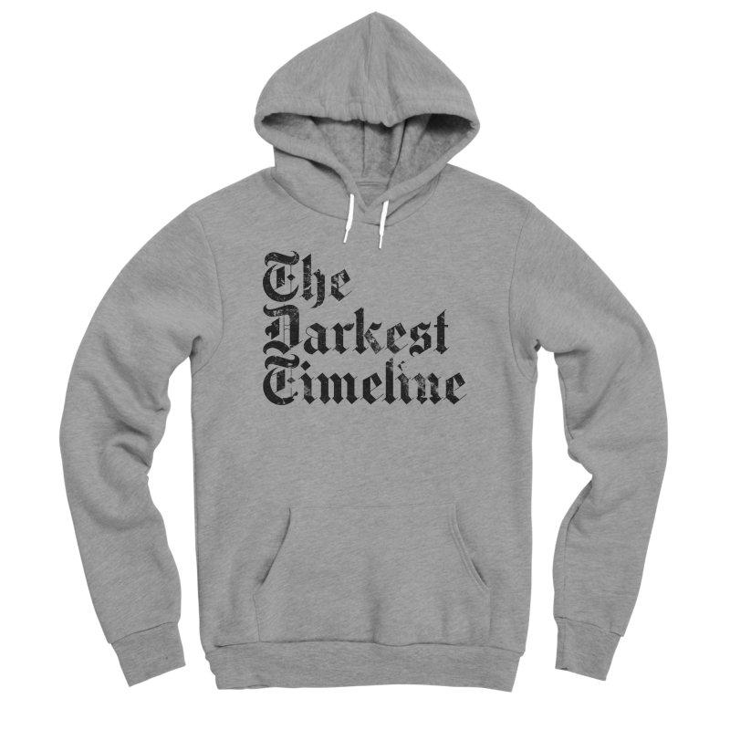 We Are In The Darkest Timeline (White) Men's Sponge Fleece Pullover Hoody by FWMJ's Shop