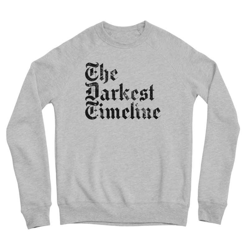 We Are In The Darkest Timeline (White) Men's Sponge Fleece Sweatshirt by FWMJ's Shop
