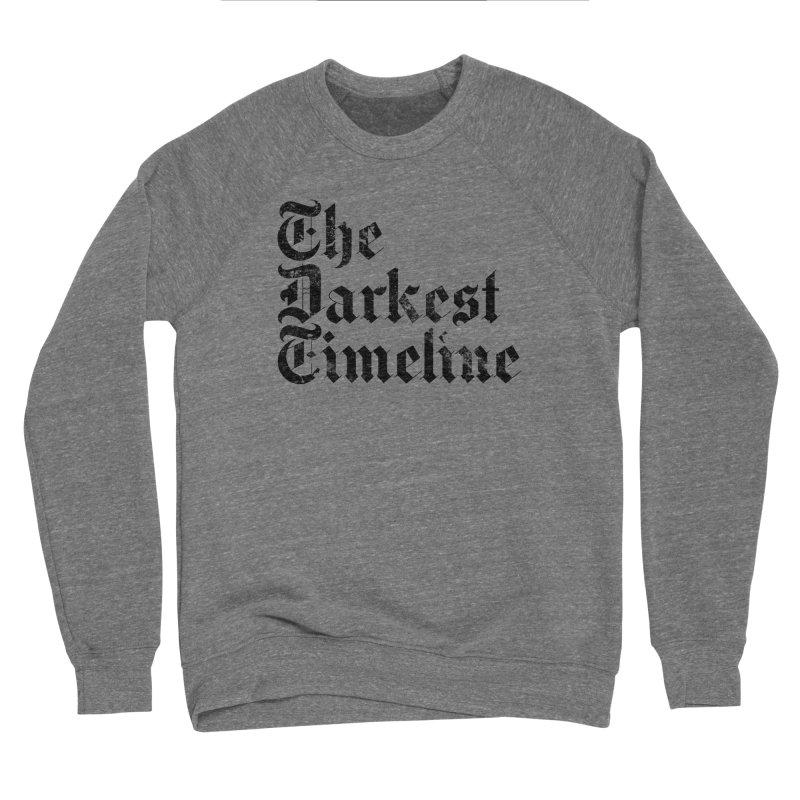 We Are In The Darkest Timeline (White) Men's Sponge Fleece Sweatshirt by FWMJ's Shop