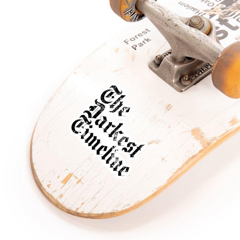 We Are In The Darkest Timeline (White) Accessories Sticker by FWMJ's Shop