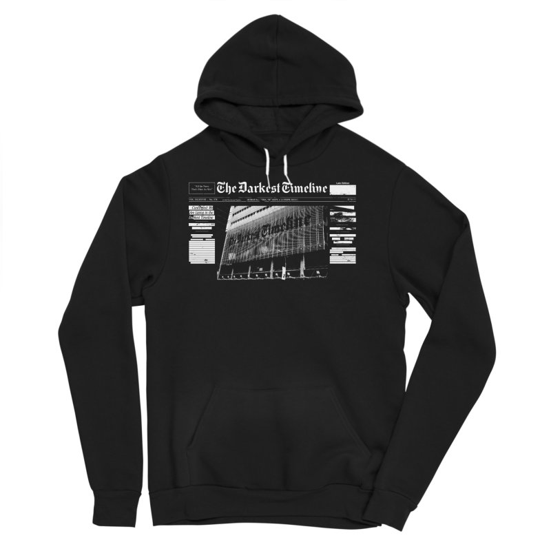 The Darkest Timeline (Above The Fold) Men's Pullover Hoody by FWMJ's Shop
