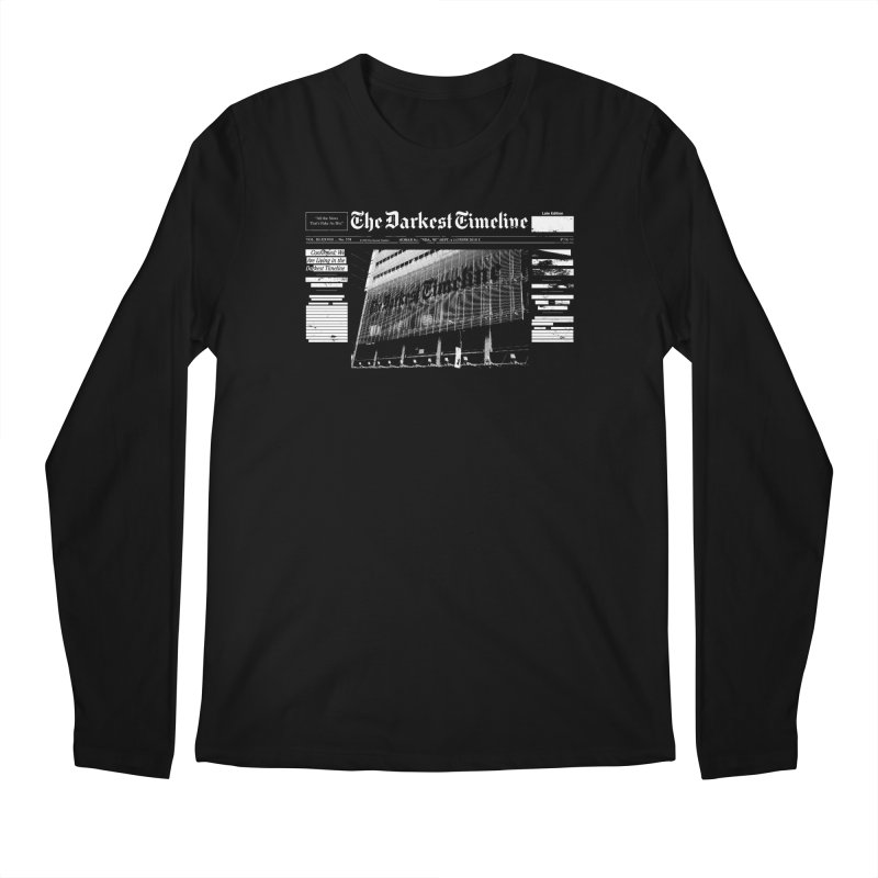 The Darkest Timeline (Above The Fold) Men's Regular Longsleeve T-Shirt by FWMJ's Shop