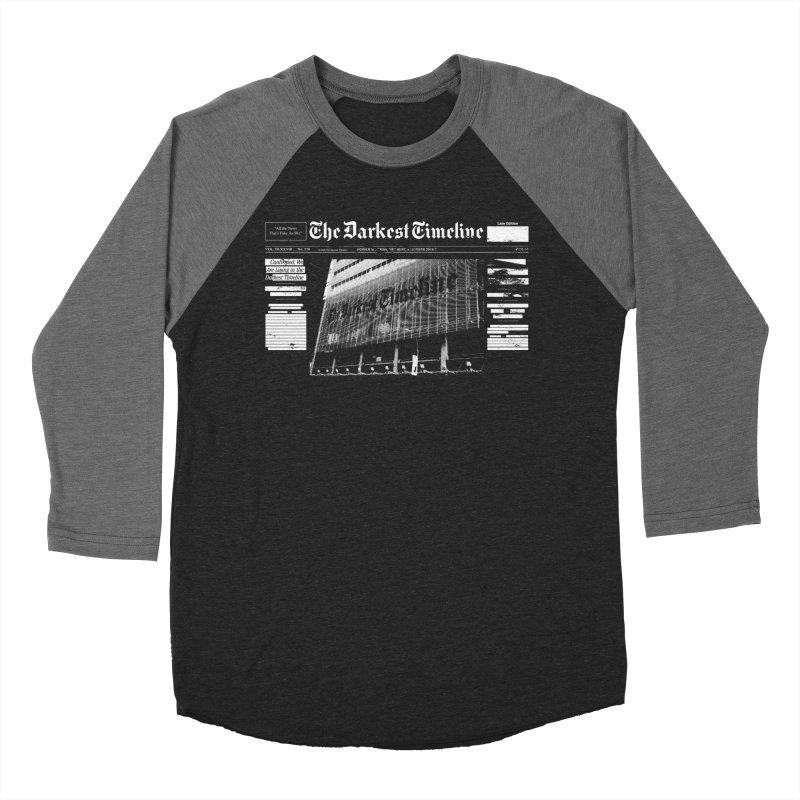 The Darkest Timeline (Above The Fold) Women's Baseball Triblend Longsleeve T-Shirt by FWMJ's Shop