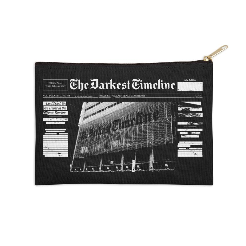 The Darkest Timeline (Above The Fold) Accessories Zip Pouch by FWMJ's Shop