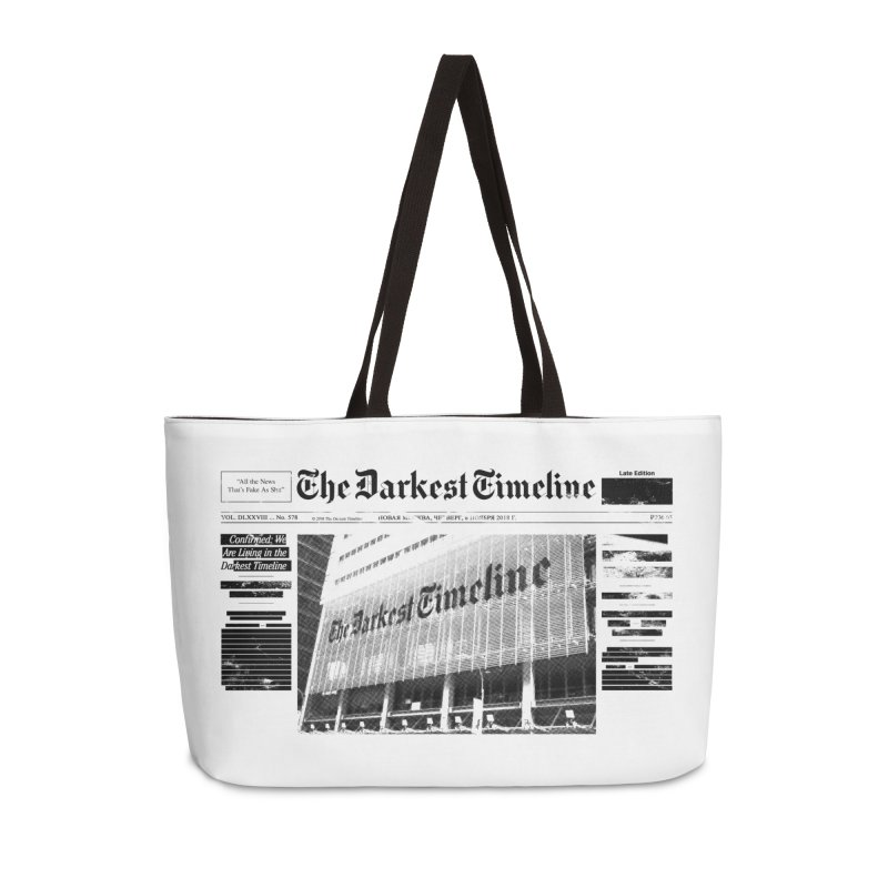 The Darkest Timeline (Above The Fold) Accessories Weekender Bag Bag by FWMJ's Shop