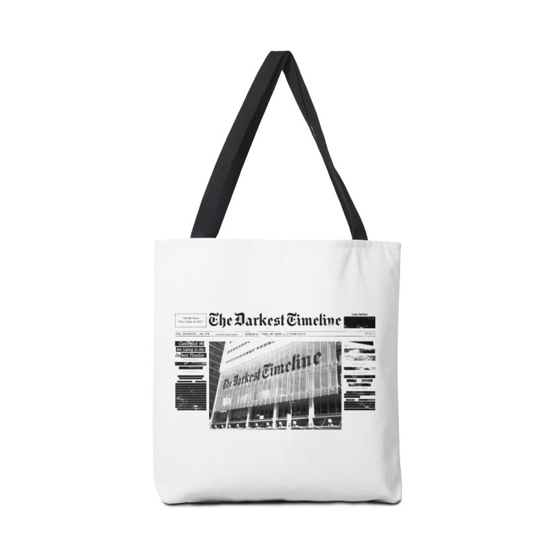 The Darkest Timeline (Above The Fold) Accessories Tote Bag Bag by FWMJ's Shop