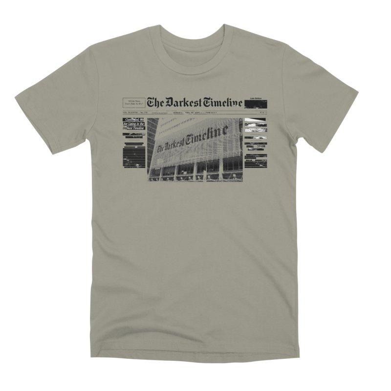The Darkest Timeline (Above The Fold) Men's Premium T-Shirt by FWMJ's Shop
