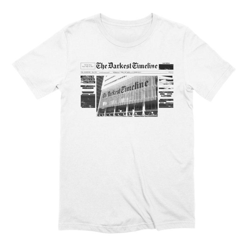 The Darkest Timeline (Above The Fold) Men's Extra Soft T-Shirt by FWMJ's Shop