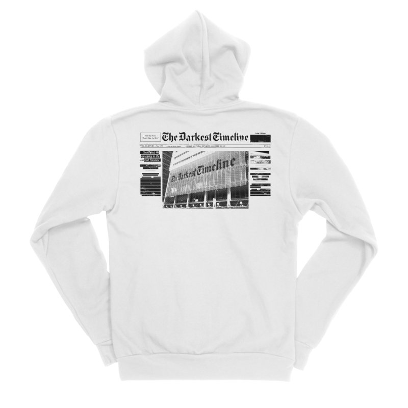 The Darkest Timeline (Above The Fold) Women's Zip-Up Hoody by FWMJ's Shop