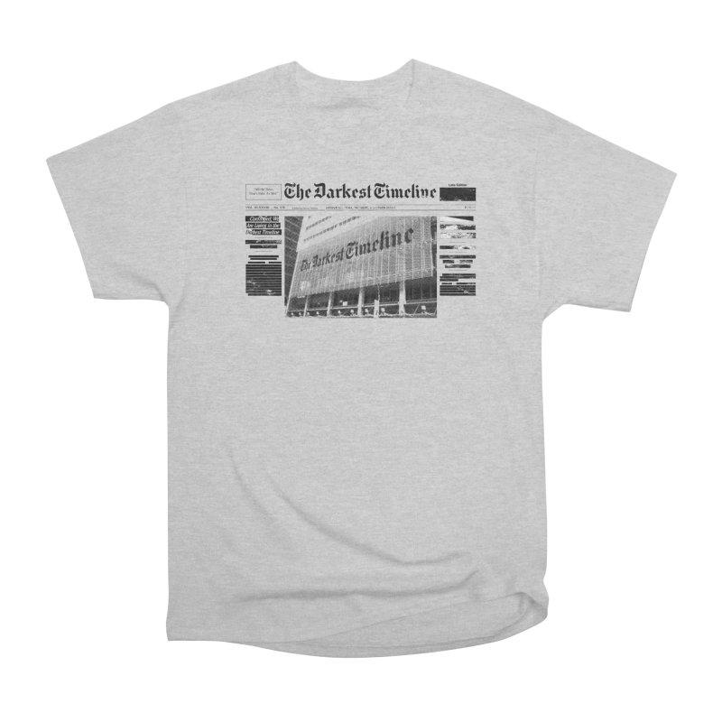 The Darkest Timeline (Above The Fold) Men's Heavyweight T-Shirt by FWMJ's Shop