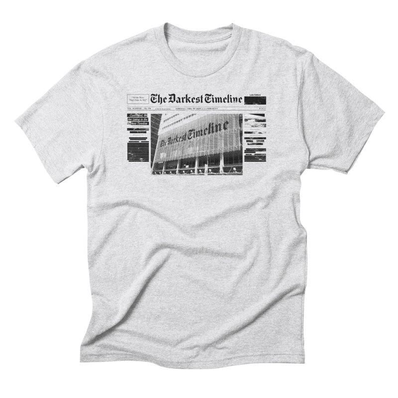 The Darkest Timeline (Above The Fold) Men's Triblend T-Shirt by FWMJ's Shop