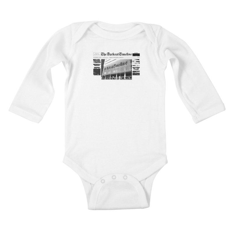 The Darkest Timeline (Above The Fold) Kids Baby Longsleeve Bodysuit by FWMJ's Shop