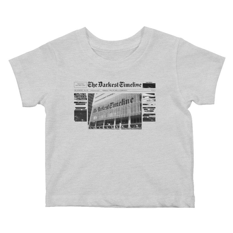 The Darkest Timeline (Above The Fold) Kids Baby T-Shirt by FWMJ's Shop