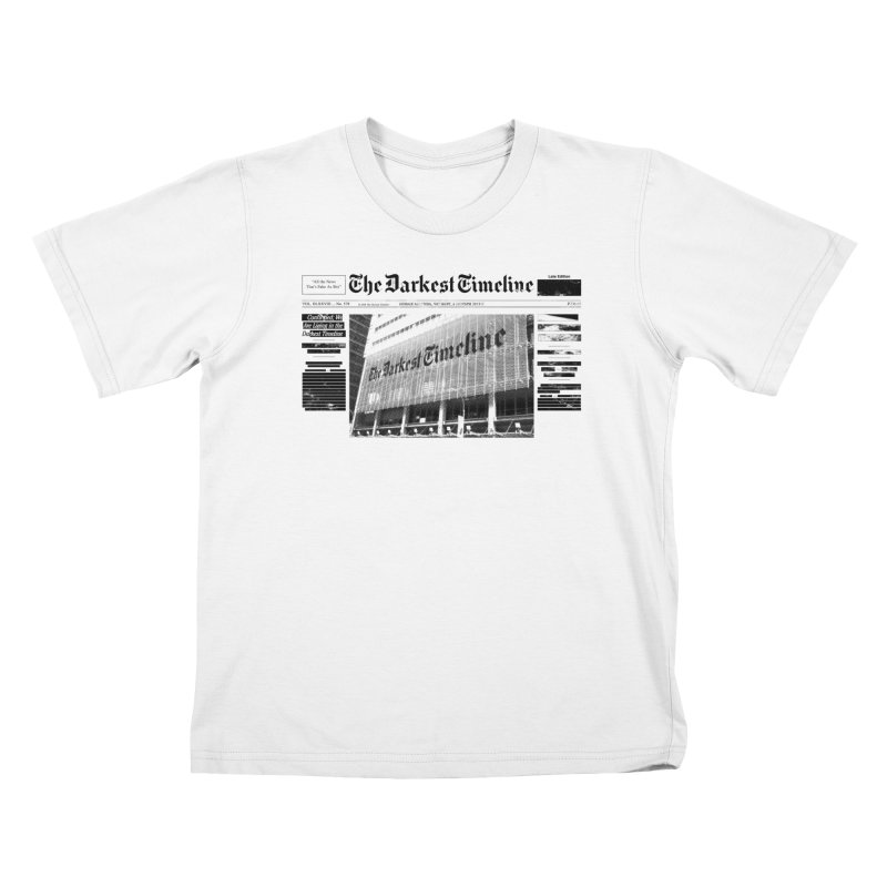 The Darkest Timeline (Above The Fold) Kids T-Shirt by FWMJ's Shop